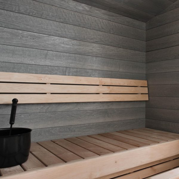 aspen panels are suitable for sauna